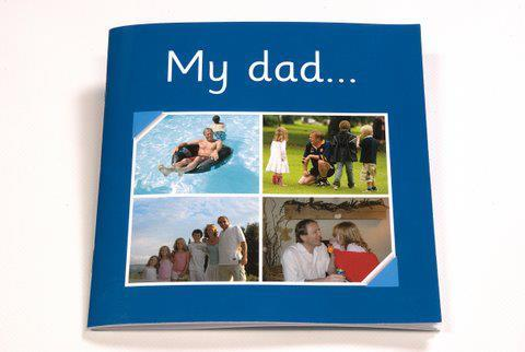 My dad photo book