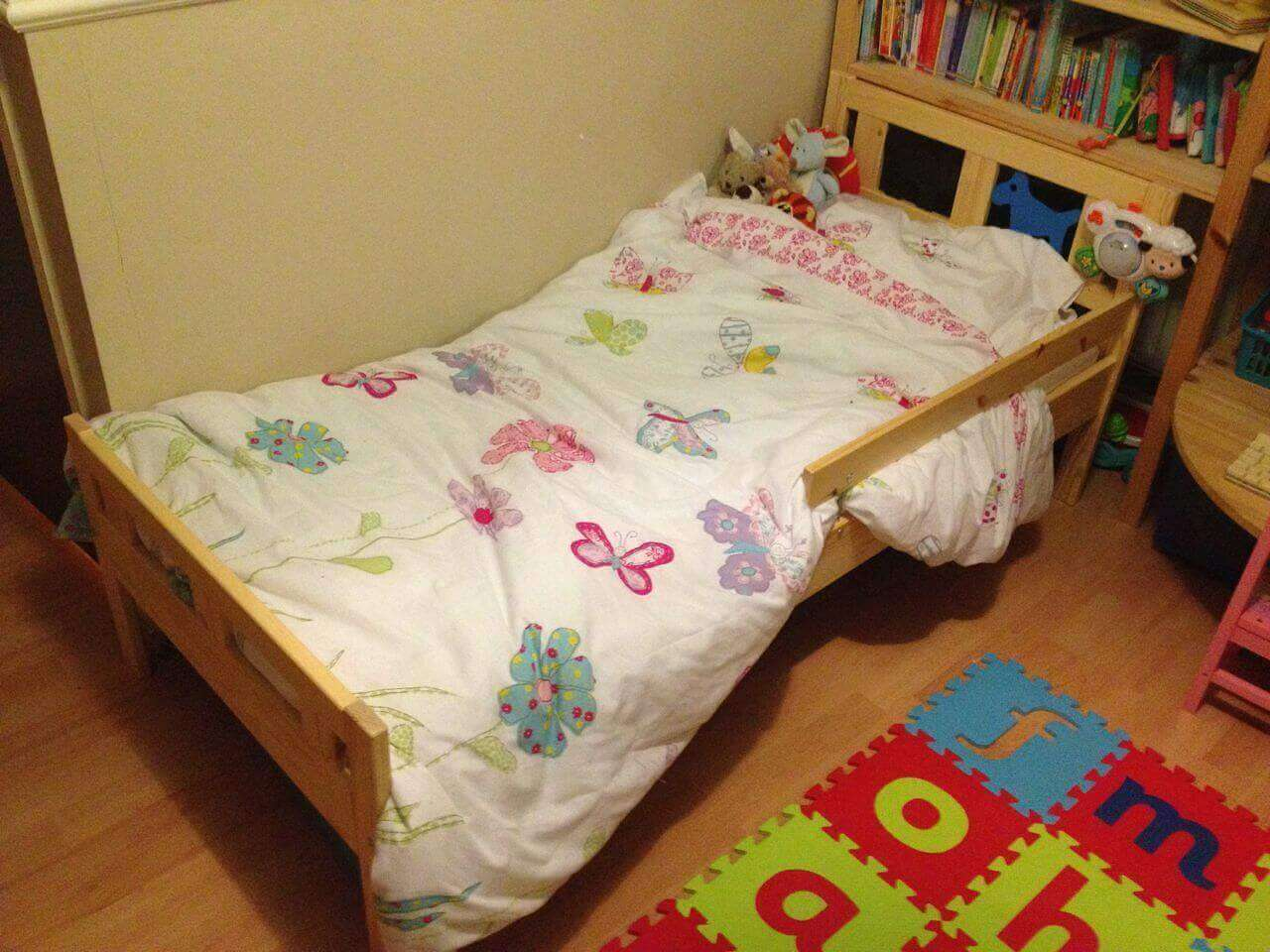 Ikea toddler bed kritter - Ikea Kritter Toddler Bed Ebay