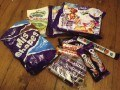 Our Cadbury World stash!