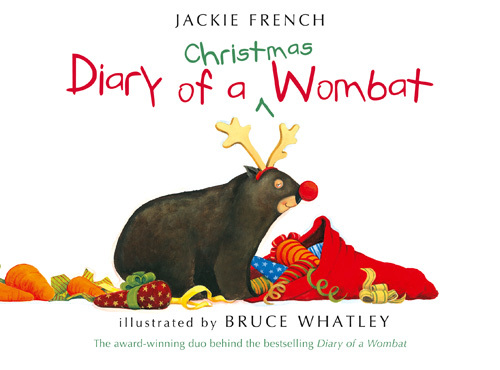 Diary of a Christmas Wombat Cover