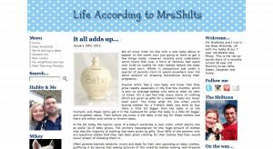 Life According to Mrs Shilts