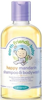 happy mandarin shampoo & body wash