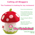 The Toadstool - Calling all Bloggers
