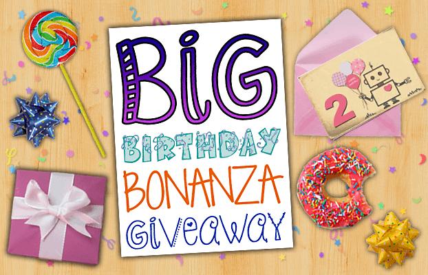 Mama Geek Big Birthday Bonanza Giveaway