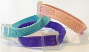 kick counter wristband