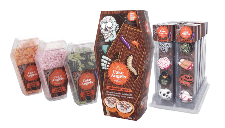 Cake Angels Halloween Range