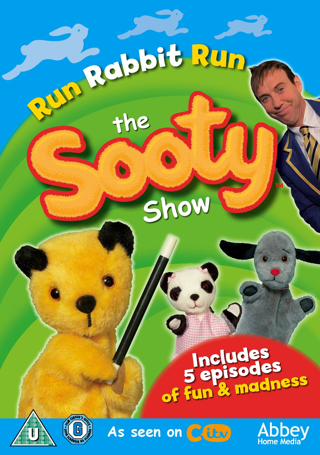 Sooty Run Rabbit Run DVD