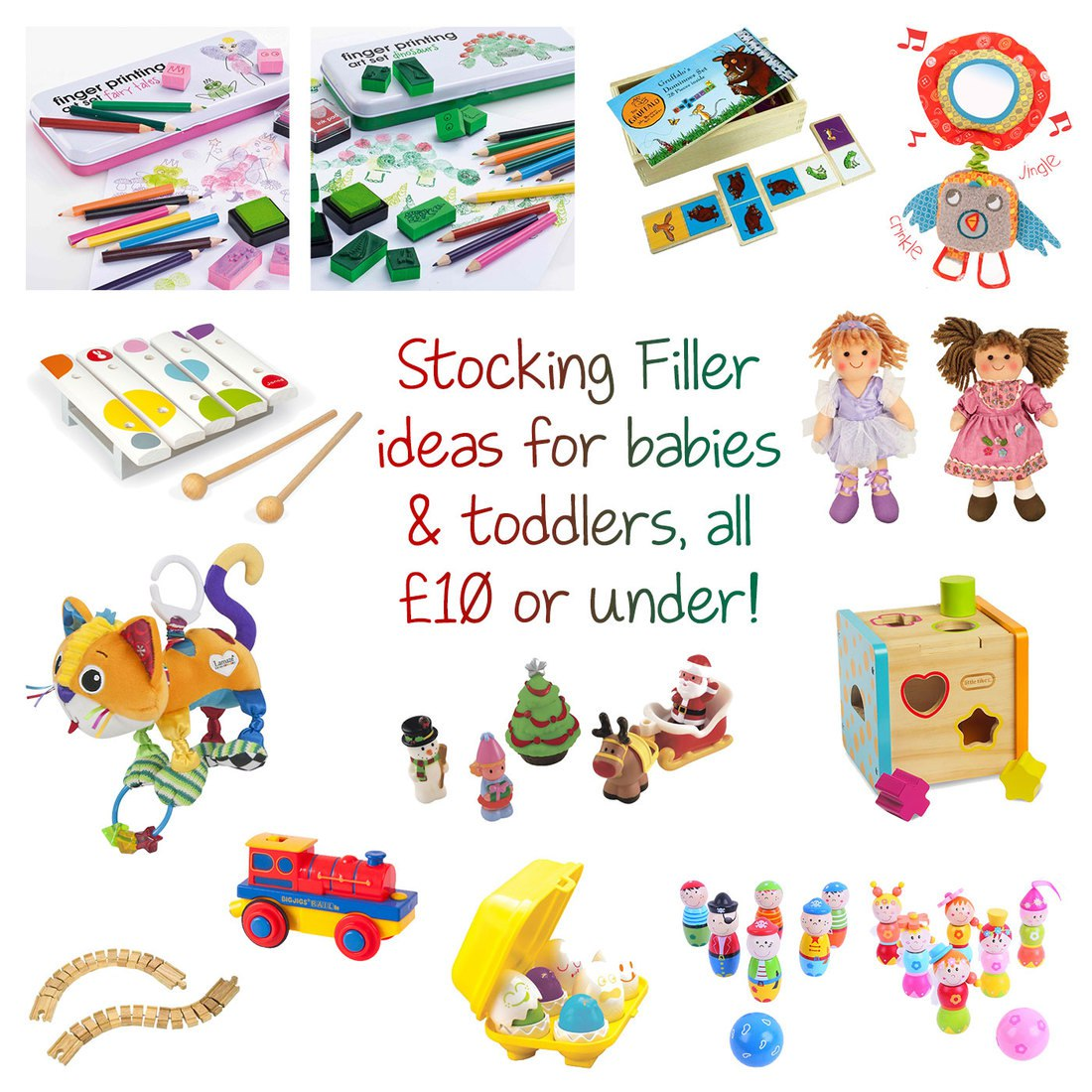 Christmas Stocking Filler Ideas For Toddlers