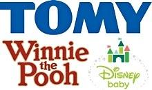 TOMY Winnie-the-Pooh Disney Baby Logo