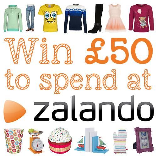 Win £50 to spend at Zalando