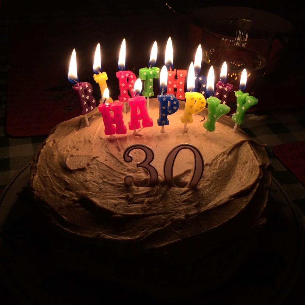 My sunday photo happy birthday james mama geek 30 happy birthday thecheapjerseys Images