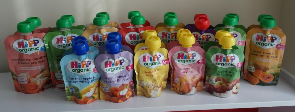 Hipp Organic Pouch Range