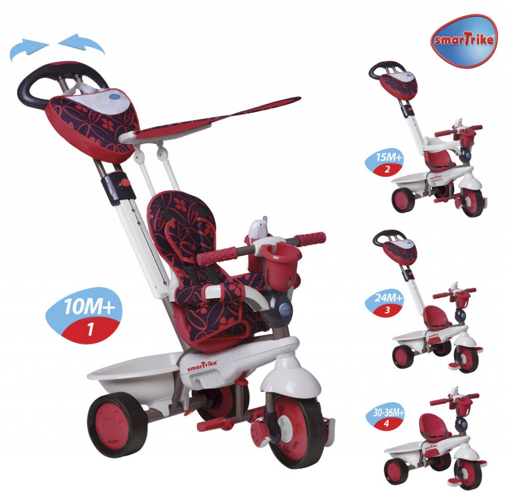review smart trike 4 in 1 dream mama geek. Black Bedroom Furniture Sets. Home Design Ideas
