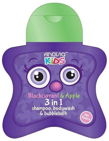 Anovia Kids Blackcurrant & Apple 3in1