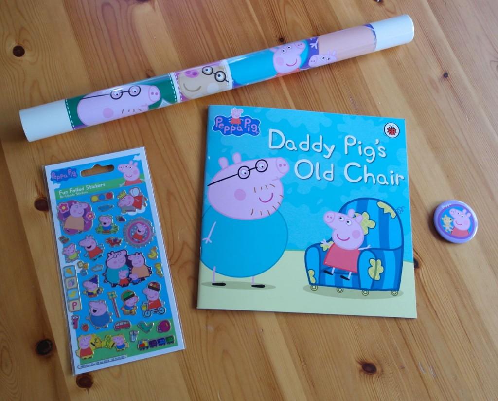 Peppa Pig goodie bag contents