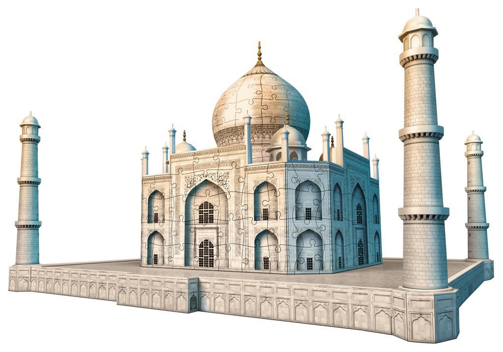 Taj Mahal 3d Image: Review: Ravensburger Taj Mahal 3D Puzzle ⋆ Mama Geek