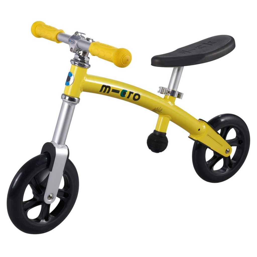 Micro Balance Bike - Yellow