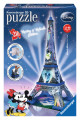 Mickey and Minnie Eiffel Tower 3D Puzzle