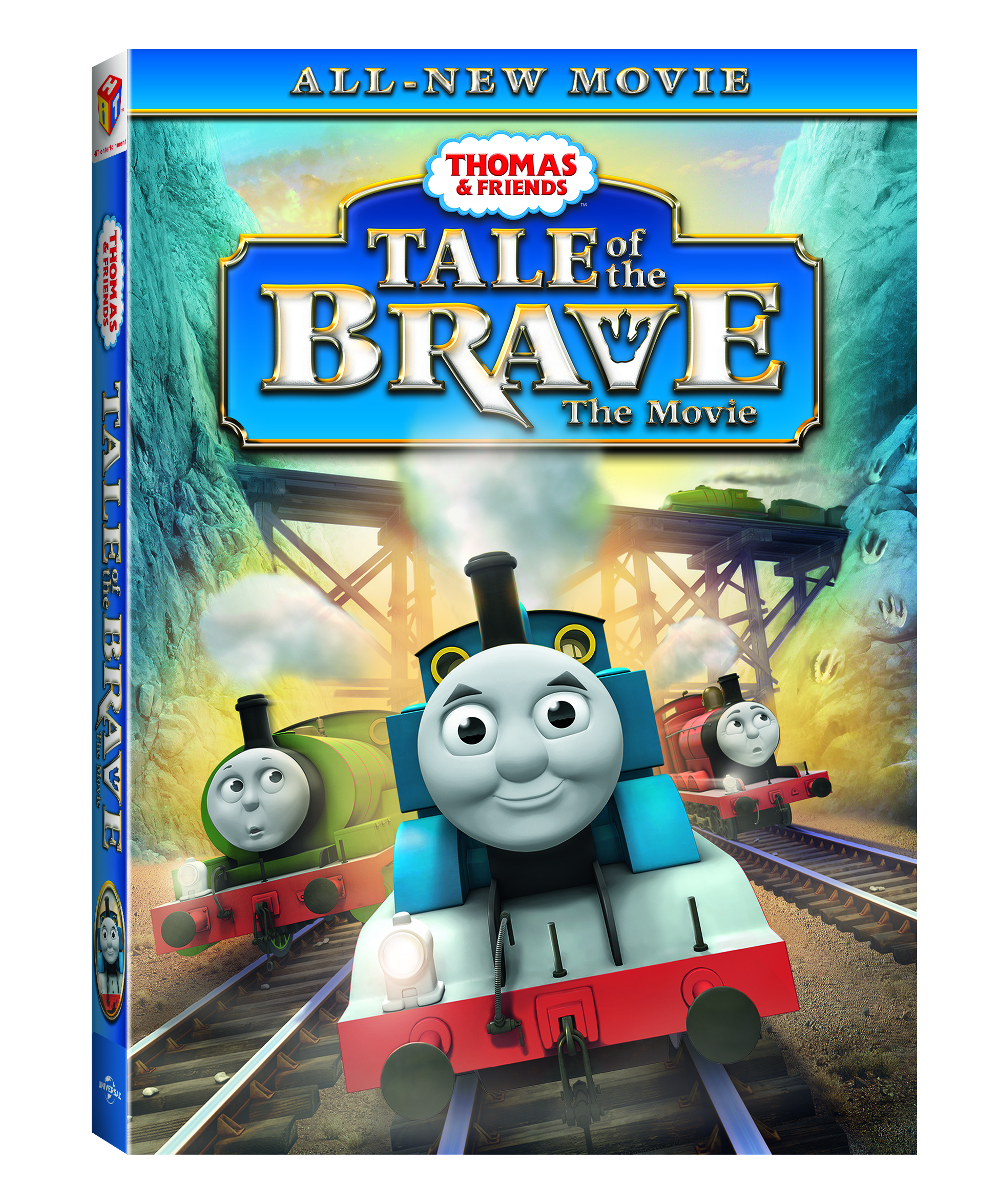 review thomas friends tale of the brave dvd at drayton manor