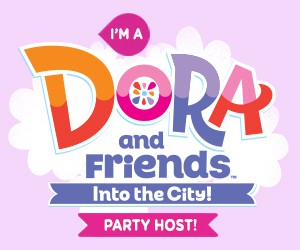I'm a Dora and Friends twitter party host