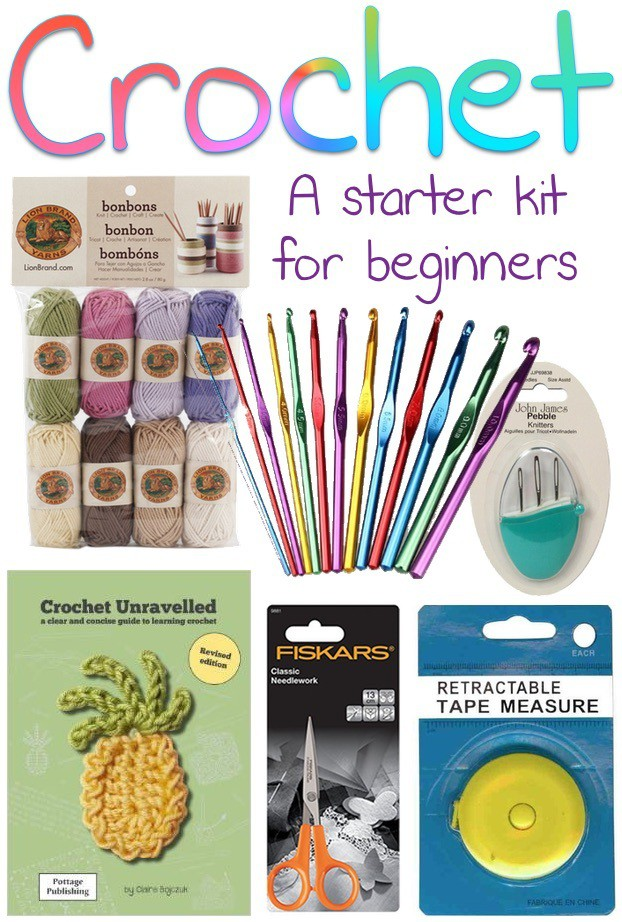 Crocheting Kit : Here?s whats in my crochet ?starter kit? for beginners: