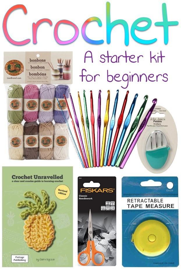 Crochet A Starter Kit For Beginners