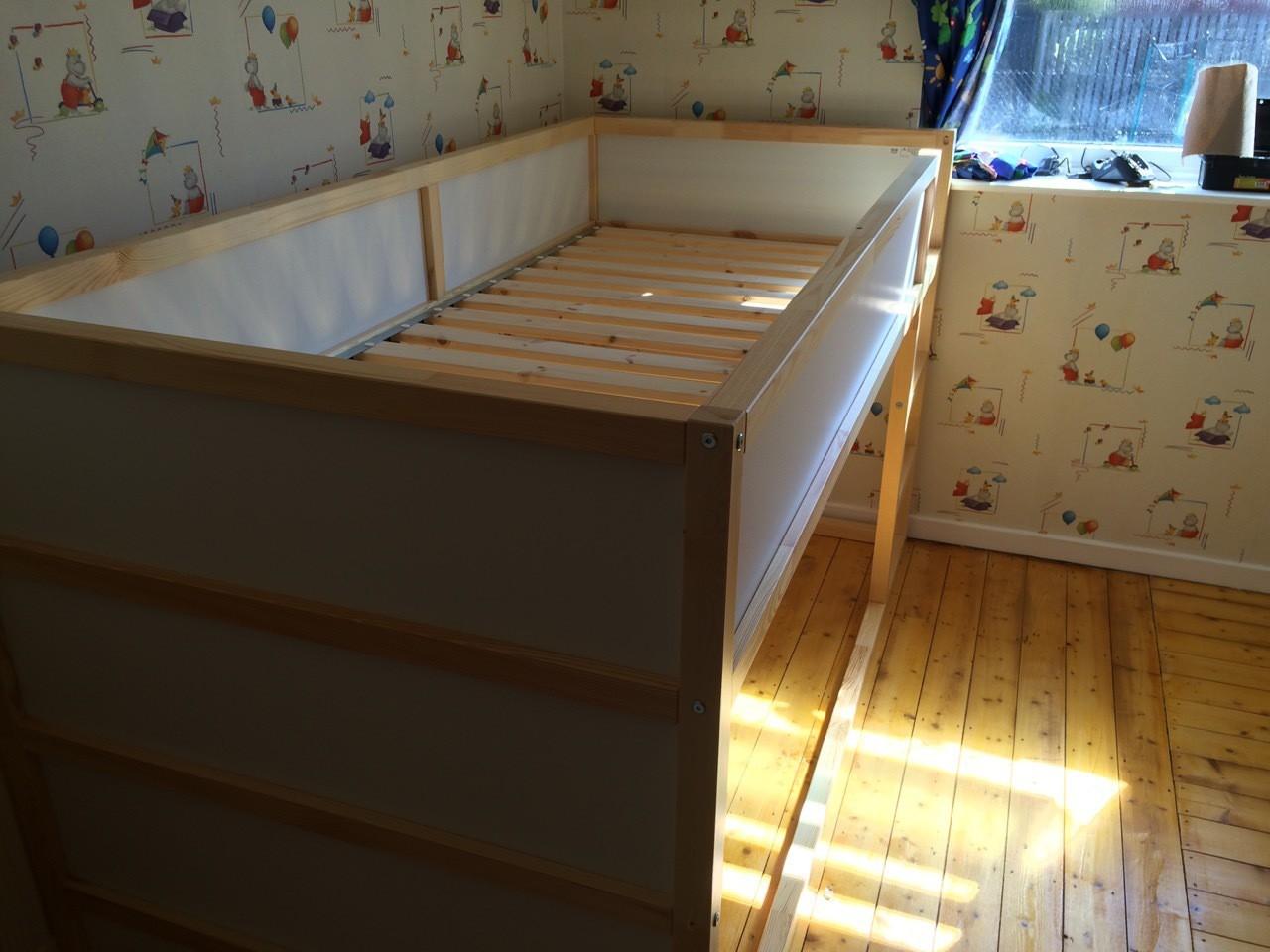 Butterfly Folding Table Ikea ~ Our  Ikea Hack  toddler friendly bunkbed  Kura, Kritter & Trof