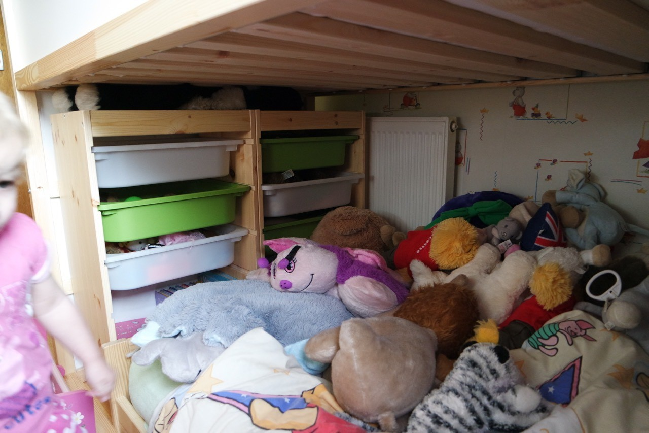 Our Quot Ikea Hack Quot Toddler Friendly Bunkbed Kura Kritter