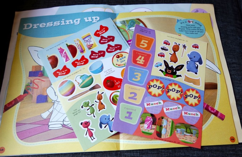 Bing Magazine - Stickers