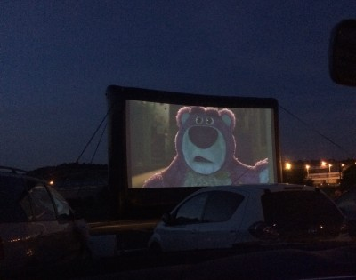 Toy Story 3 at the Merry Hill Drive In
