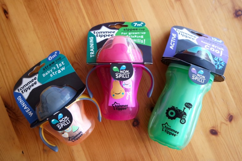 Tommee Tippee sippee cups