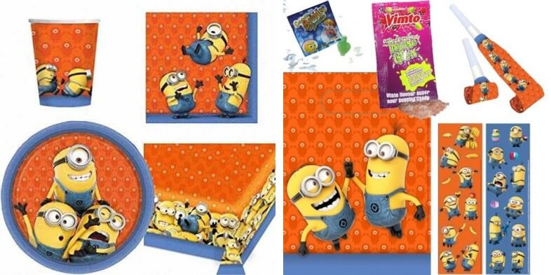 minons party pack
