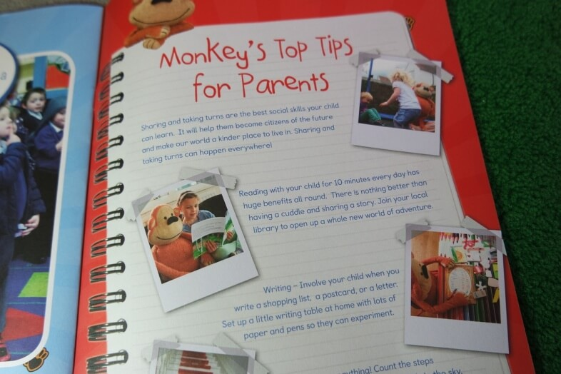 Monkey's Guide to Starting School - Tips for Parents