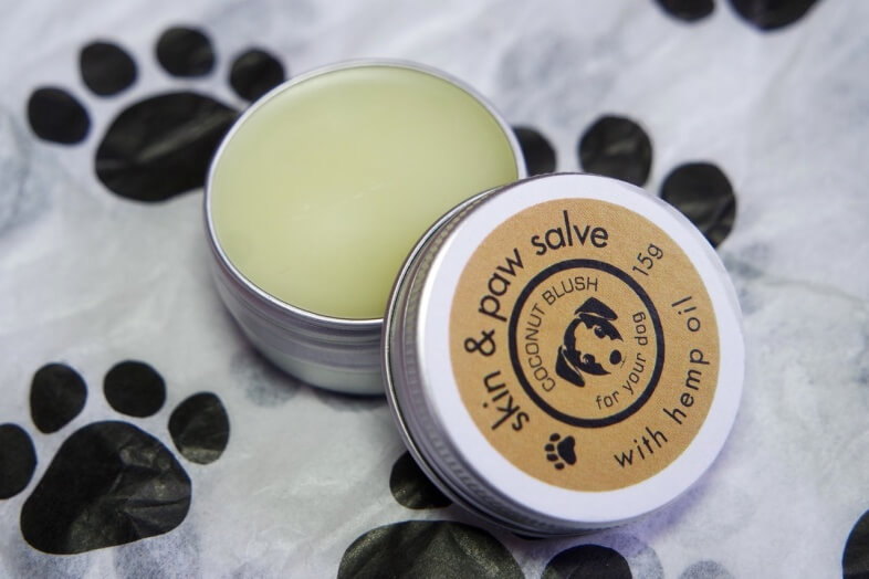 Barking Rad Box - Coconut Blush Skin and Paw Salve