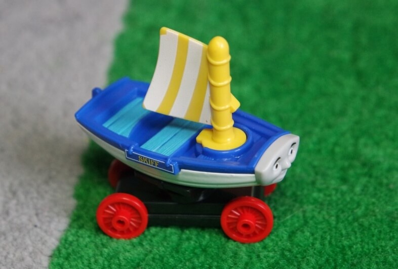 Skiff from the new Thomas & Friends film