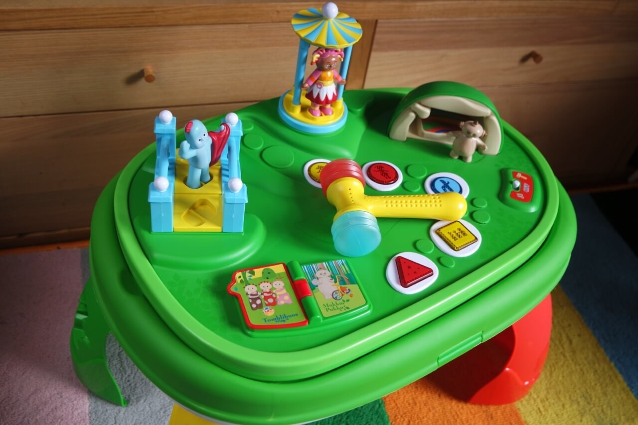 Review: In the Night Garden Explore & Learn Musical Activity Table