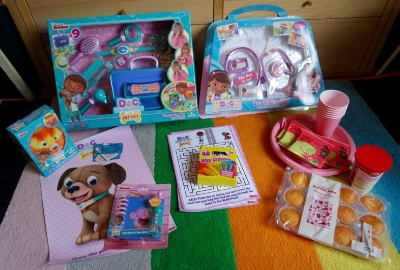 Toys & activities for our DocMcStuffins Pet Vet party!