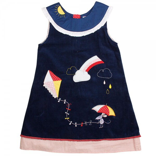 Weather Mouse Cord Dress