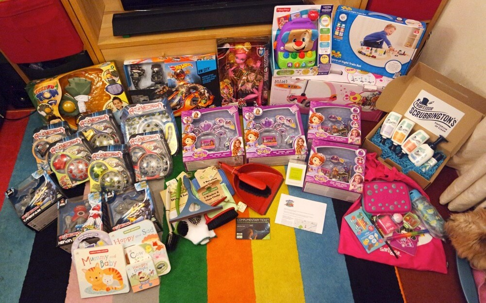 Toy Raffle Prizes : A very big thank you post ⋆ mama geek