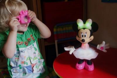 Rainbow Dazzle Minnie Mouse