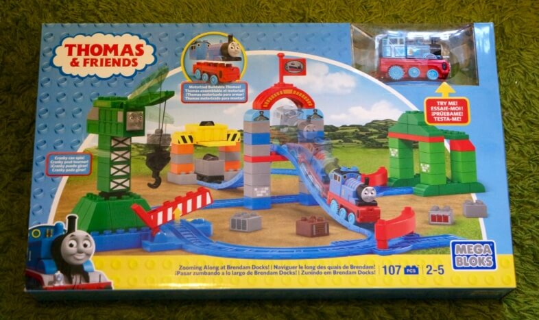 Mega Bloks Thomas and Friends Zooming Along at Brendam Docks