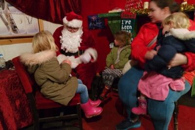 Santa at Hatton Adventure World