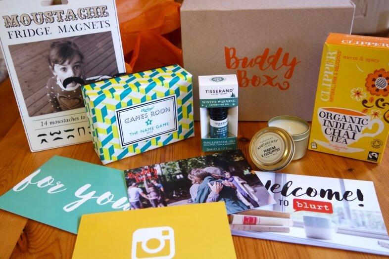 Buddy Box - Contents