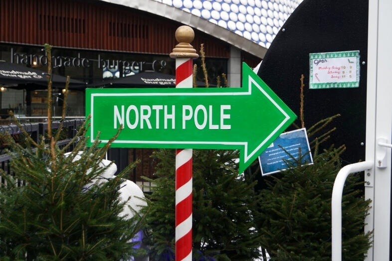 North Pole at Santa's Grotto, Bullring