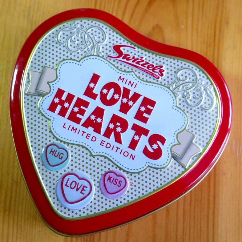 Love Hearts Limited Edition Tin