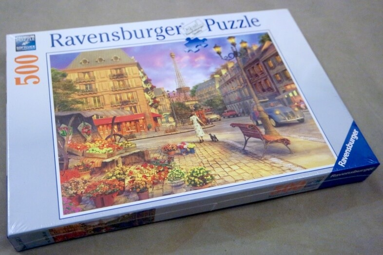 Ravensburger - An Evening Walk - jigsaw puzzle review