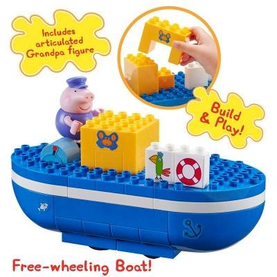 Peppa Pig Construction Grandpa Pig's Boat Set