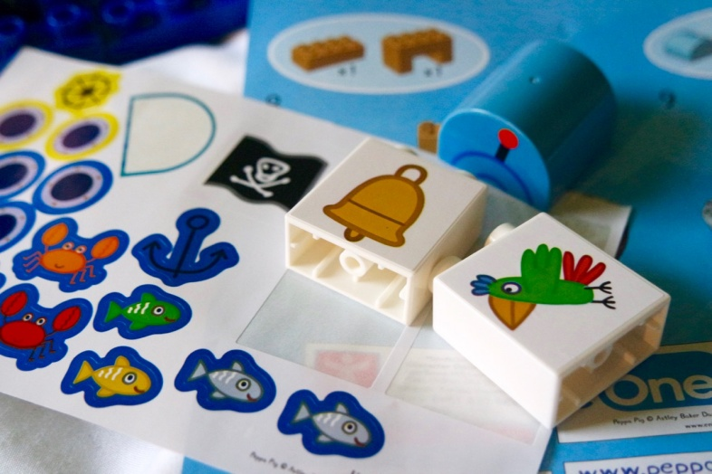 Stickers - Peppa Pig Construction Grandpa Pig's Boat Set