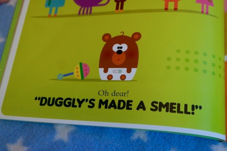 Duggly's made a smell!