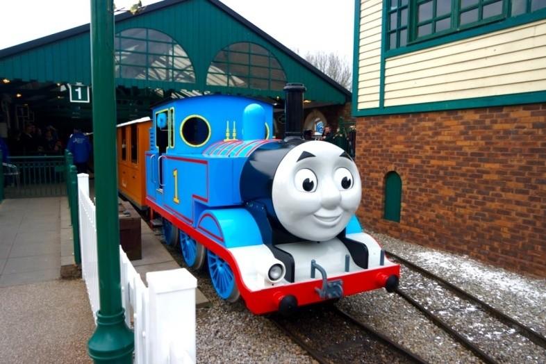 Thomas the Tank Engine at Thomas Land, Drayton Manor